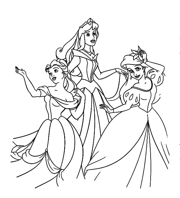 ariel and belle coloring pages palace pets coloring pages google søgning disney ariel coloring belle pages and