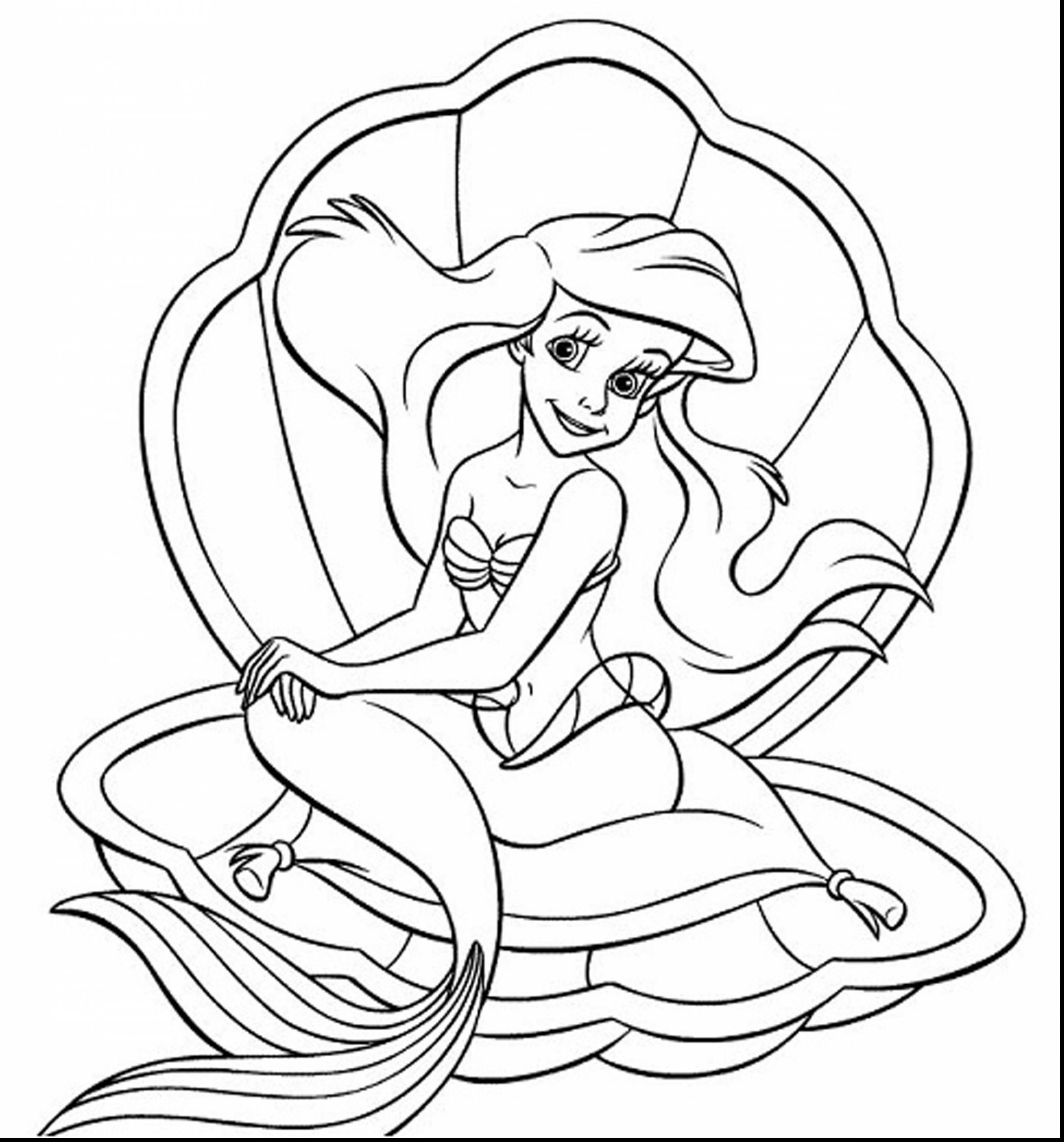 ariel colour in the little mermaid coloring pages 3 disneyclipscom ariel colour in