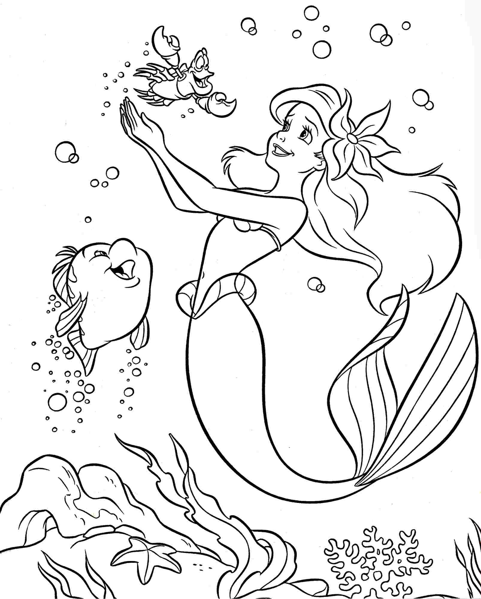 ariel disney coloring 8 best images of printable disney princess toddler ariel disney coloring