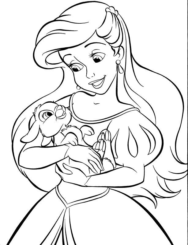 ariel disney coloring disney princess coloring pages ariel in a dress coloring disney ariel coloring