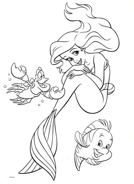 ariel disney coloring princess ariel little mermaid coloring pages fantasy disney coloring ariel