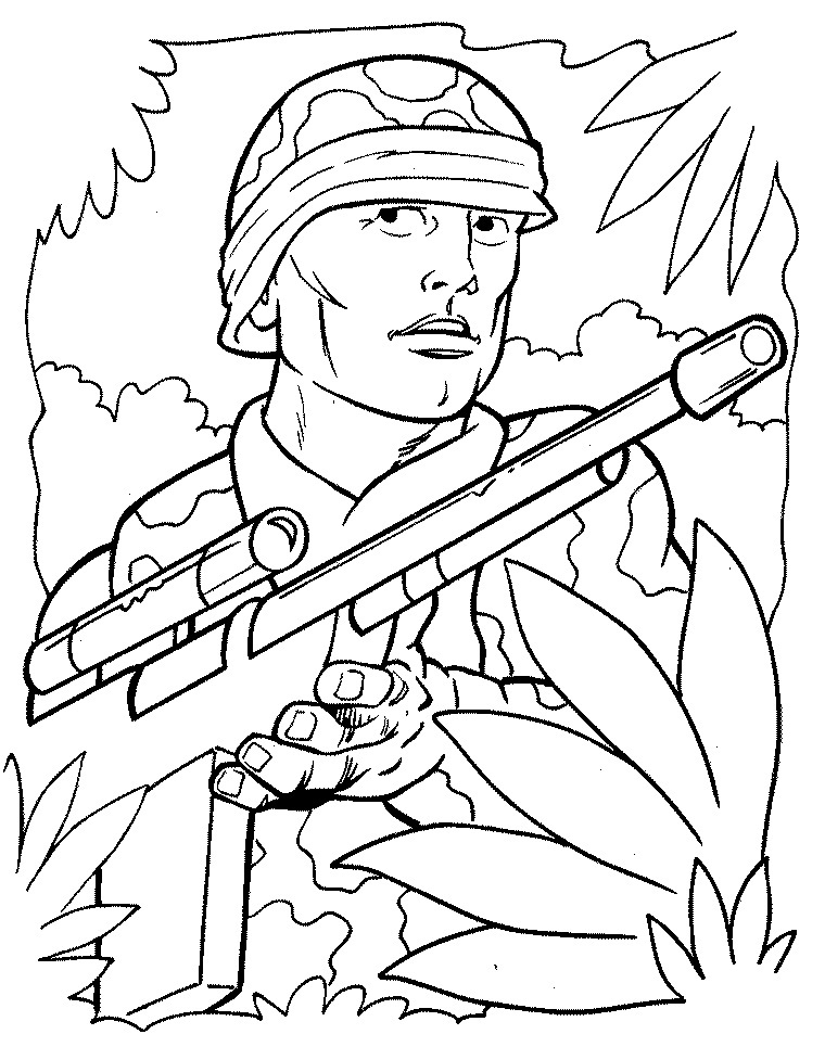 army pictures to color soldier coloring pages to download and print for free pictures to color army