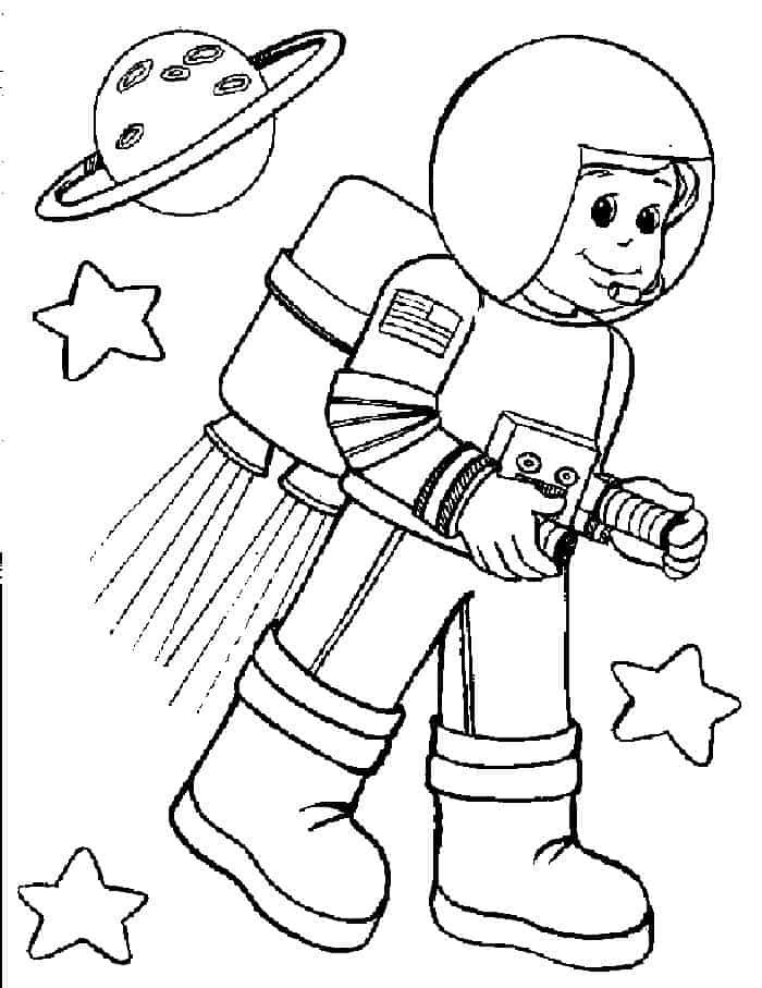 astronaut coloring for kids astronaut coloring pages coloring pages for children kids astronaut for coloring
