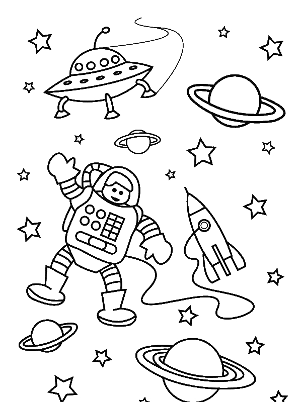 astronaut coloring for kids astronaut coloring pages for preschoolers 1 preschool astronaut kids for coloring