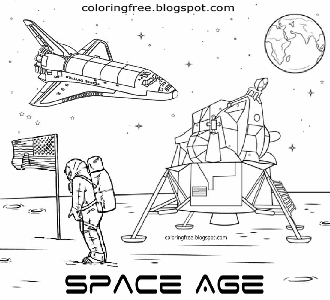 astronaut coloring for kids free coloring pages printable pictures to color kids coloring astronaut kids for