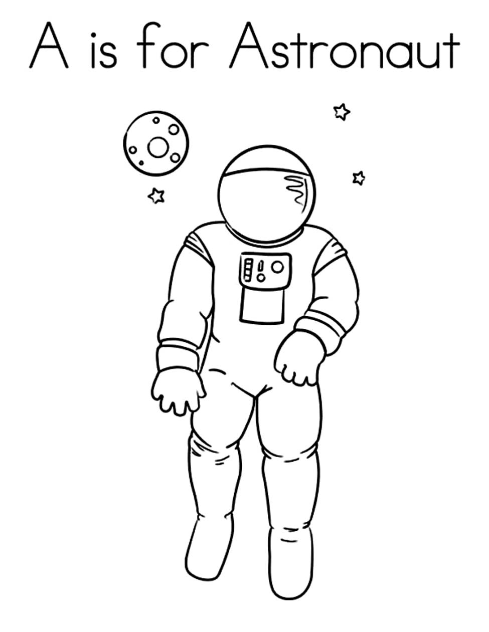 astronaut coloring for kids man in space suit coloring images coloring pages for kids coloring astronaut