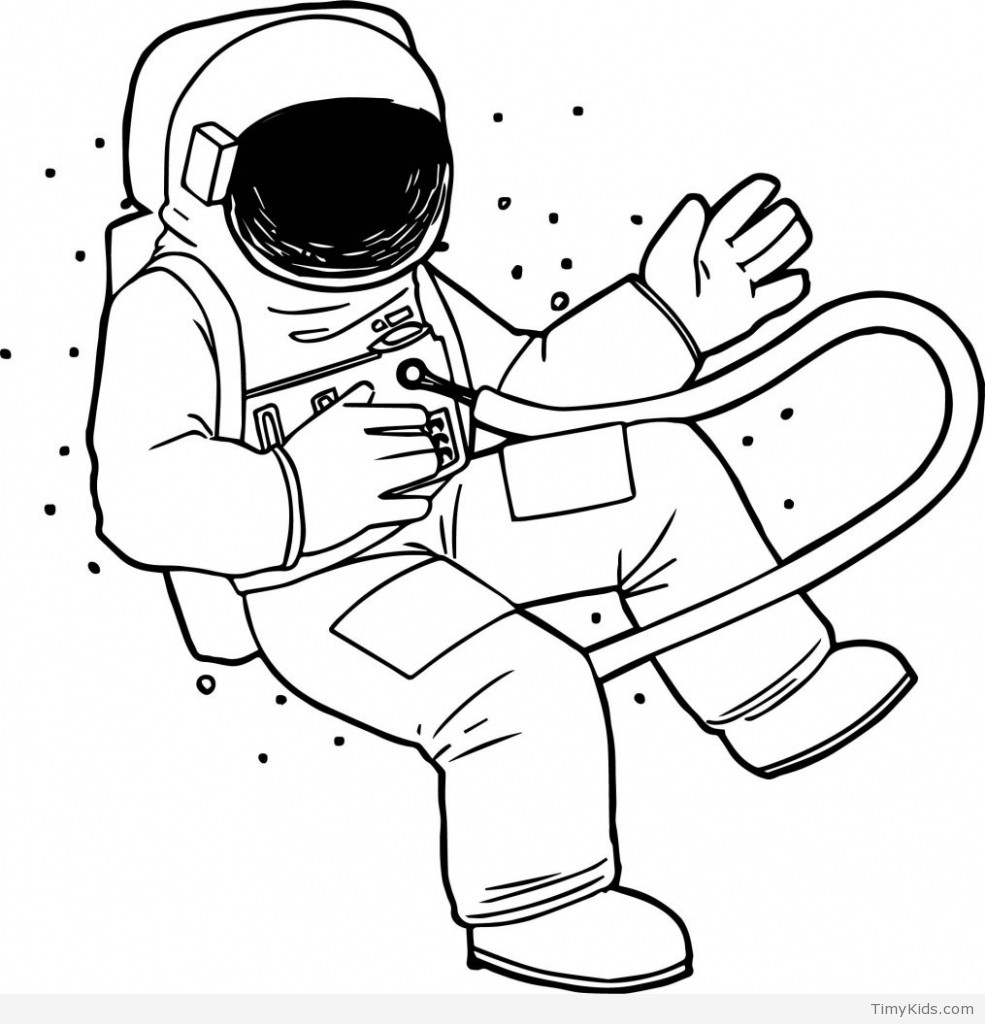 astronaut coloring for kids printable astronaut coloring pages for kids coloring astronaut kids for