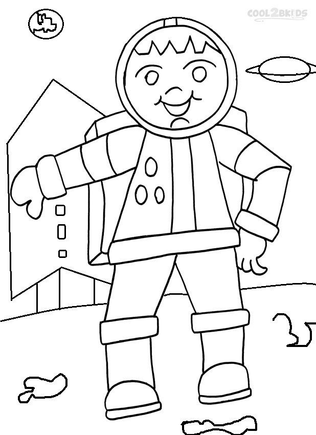 astronaut coloring for kids printable astronaut coloring pages for kids cool2bkids for kids coloring astronaut
