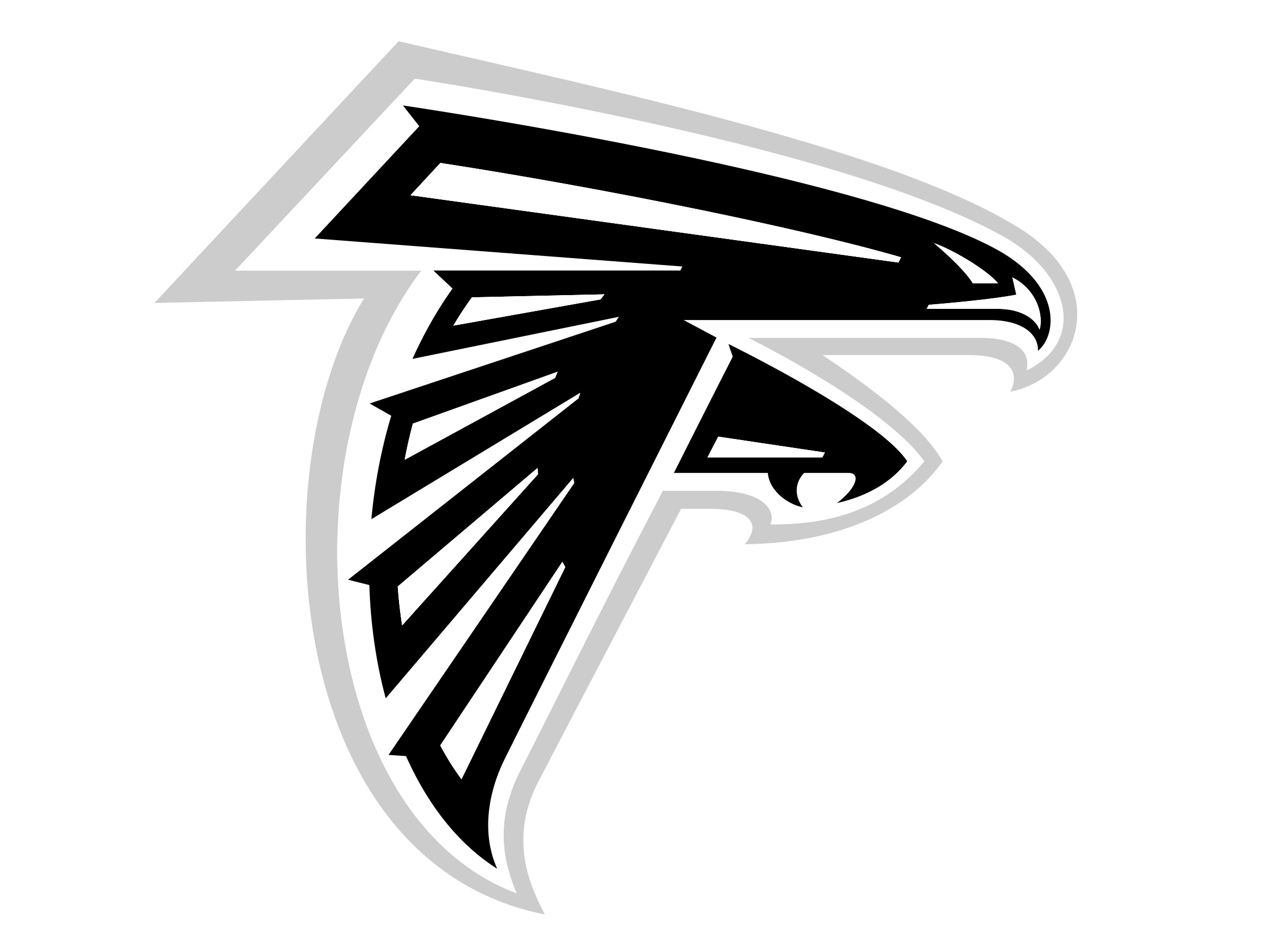 Atlanta falcons logos
