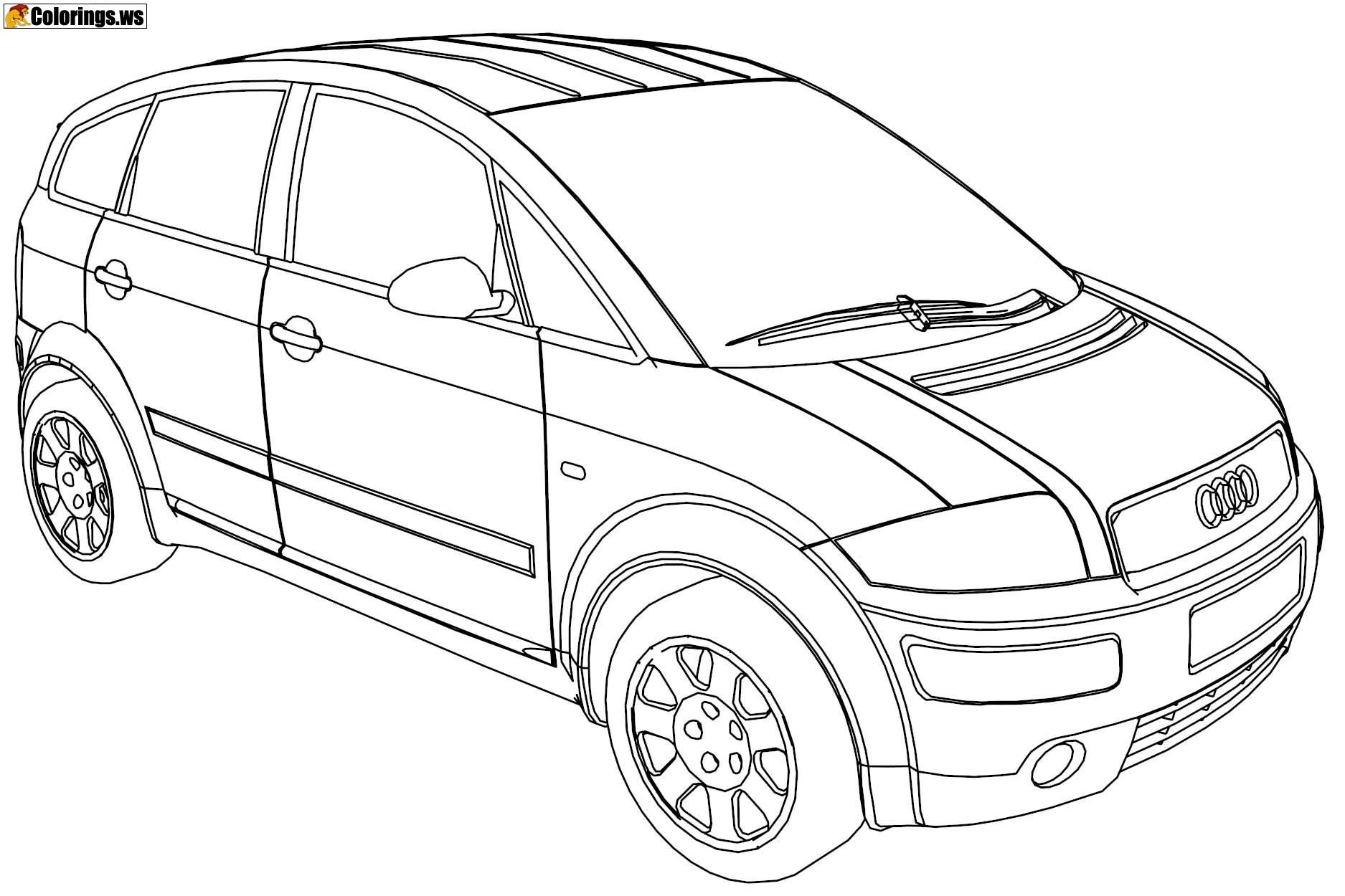 audi coloring audi a5 coloring page free printable coloring pages coloring audi