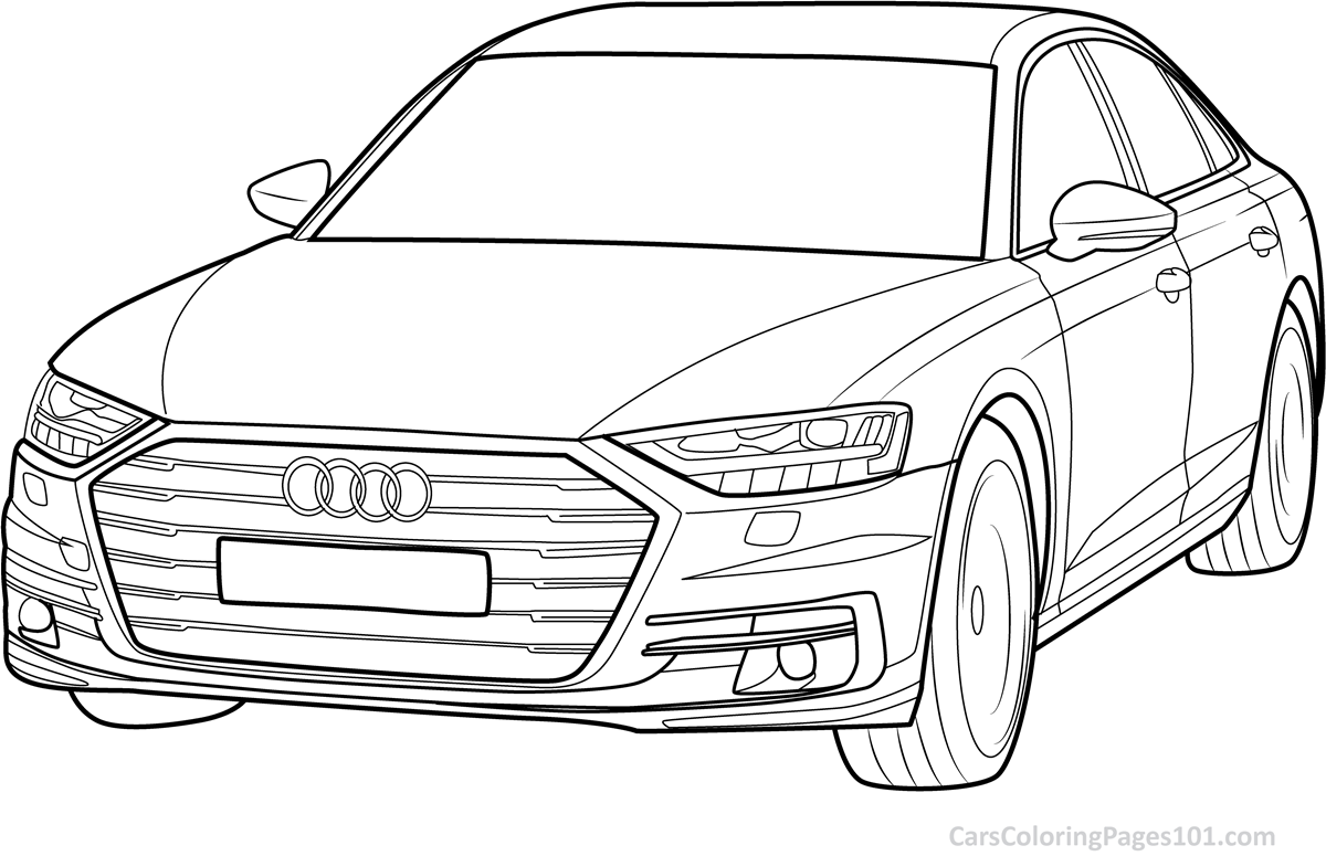 audi coloring audi coloring pages free printable audi coloring pages audi coloring