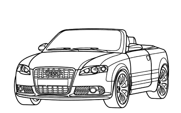 audi coloring how to draw audi cars sedan colouring pagejpg 600238 coloring audi