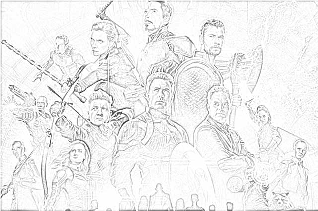 avengers endgame coloring pictures 6 marvel coloring pages coworksheets endgame pictures avengers coloring