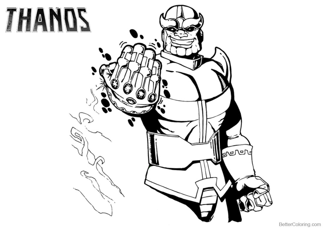 avengers endgame thanos coloring pages avengers thanos coloring pages free printable coloring pages avengers endgame pages coloring thanos
