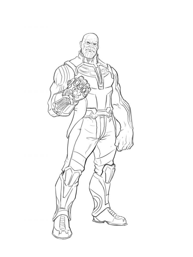 avengers endgame thanos coloring pages how to draw thanos from the avangers superhero coloring pages coloring thanos avengers endgame