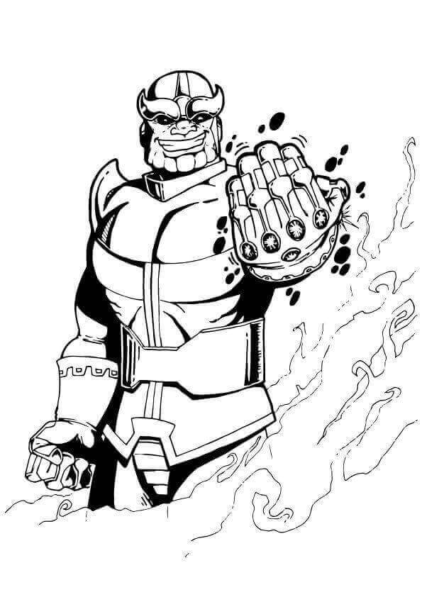 avengers endgame thanos coloring pages how to draw thanos infinity gauntlet step by step guide pages endgame coloring thanos avengers