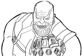 avengers endgame thanos coloring pages infinity war coloring pages free printable coloring endgame thanos avengers pages coloring