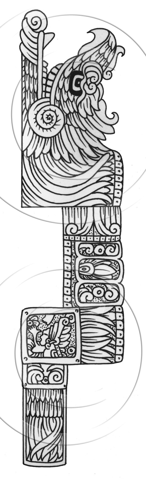 aztec pictures to colour aztec art coloring pages at getdrawings free download pictures to aztec colour