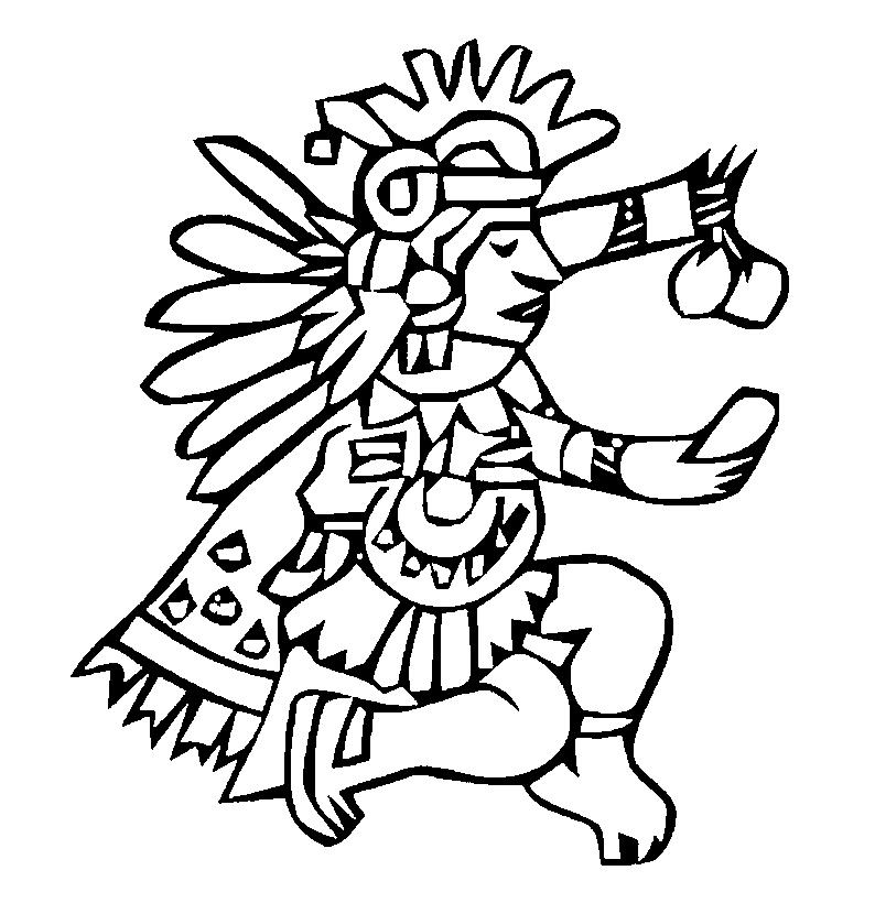 aztec pictures to colour aztec coloring pages at getcoloringscom free printable to colour pictures aztec