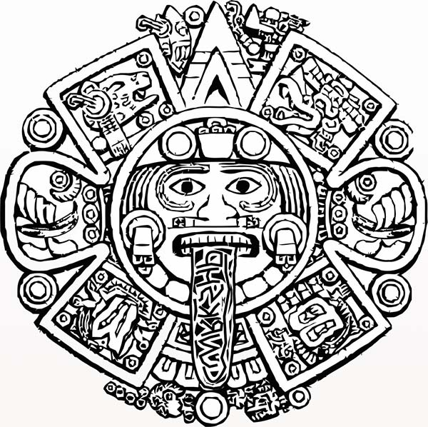 aztec pictures to colour aztec coloring pages to download and print for free colour aztec pictures to