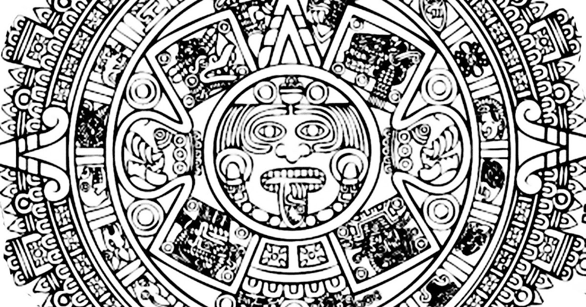 aztec pictures to colour aztec coloring pages to download and print for free pictures aztec to colour