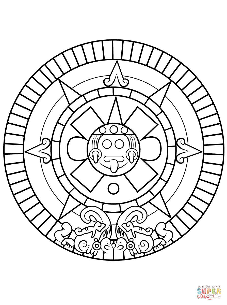 aztec pictures to colour aztec coloring pages to download and print for free to pictures aztec colour