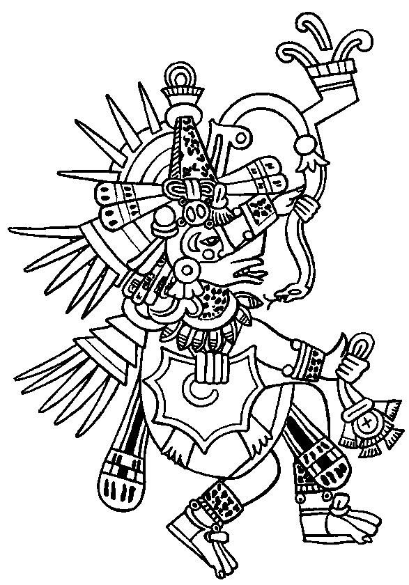 aztec pictures to colour death coloring pages for adults aztec colour pictures to