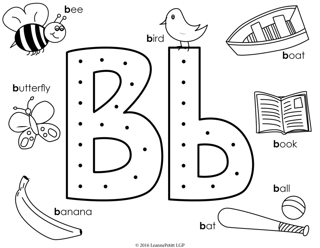 b is for ball coloring page b for ball ball coloring for is page b