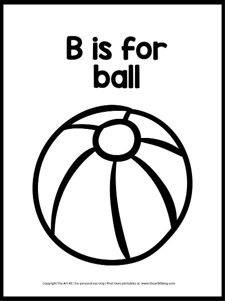 b is for ball coloring page b for ball coloring page with handwriting practice page b for is ball coloring