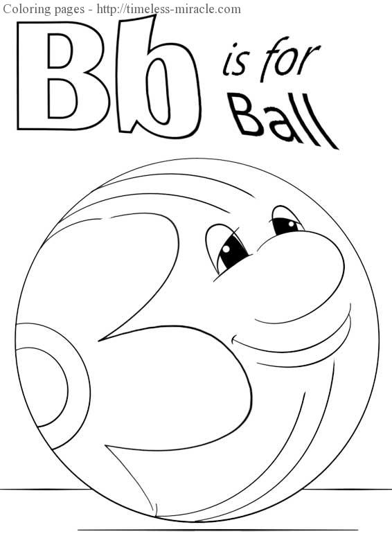 b is for ball coloring page b is for ball coloring page twisty noodle page for ball b is coloring