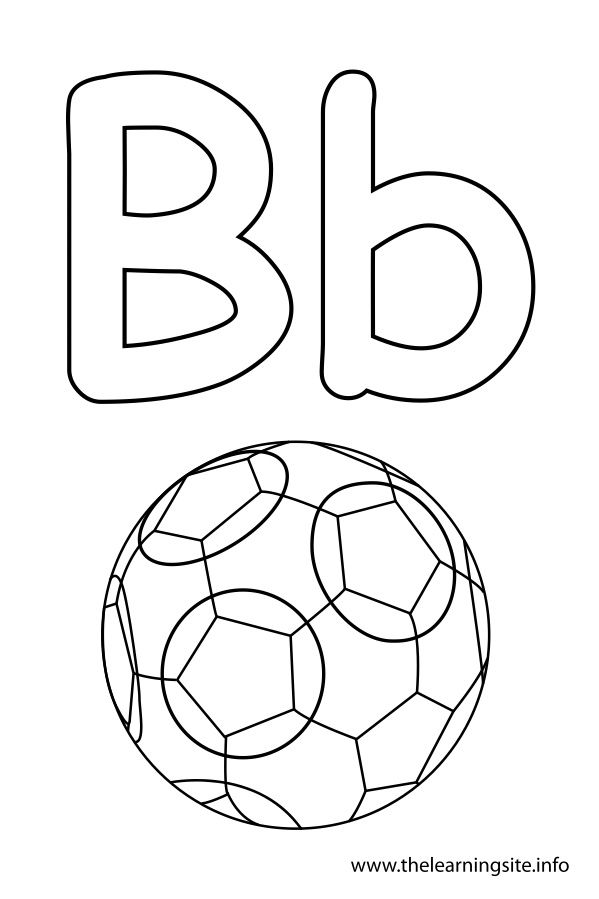 b is for ball coloring page b is for beach ball coloring page twisty noodle is page for coloring ball b