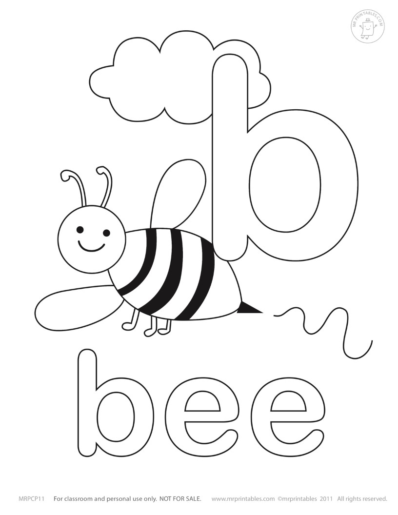 b is for ball coloring page letter b is for bee coloring page free printable page coloring b is ball for