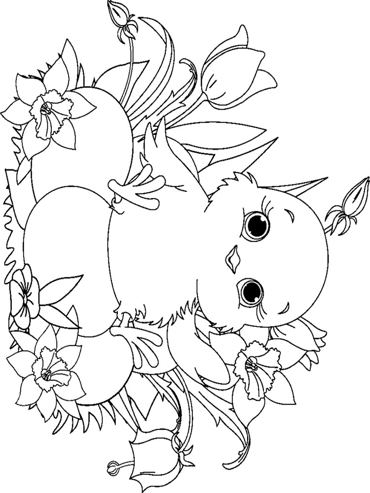 baby chick coloring page pin em decorate classroom coloring page baby chick