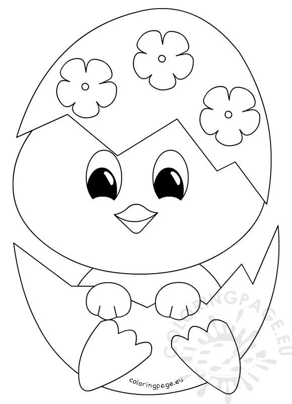 baby chick coloring page pin på digiscoloring page baby coloring chick