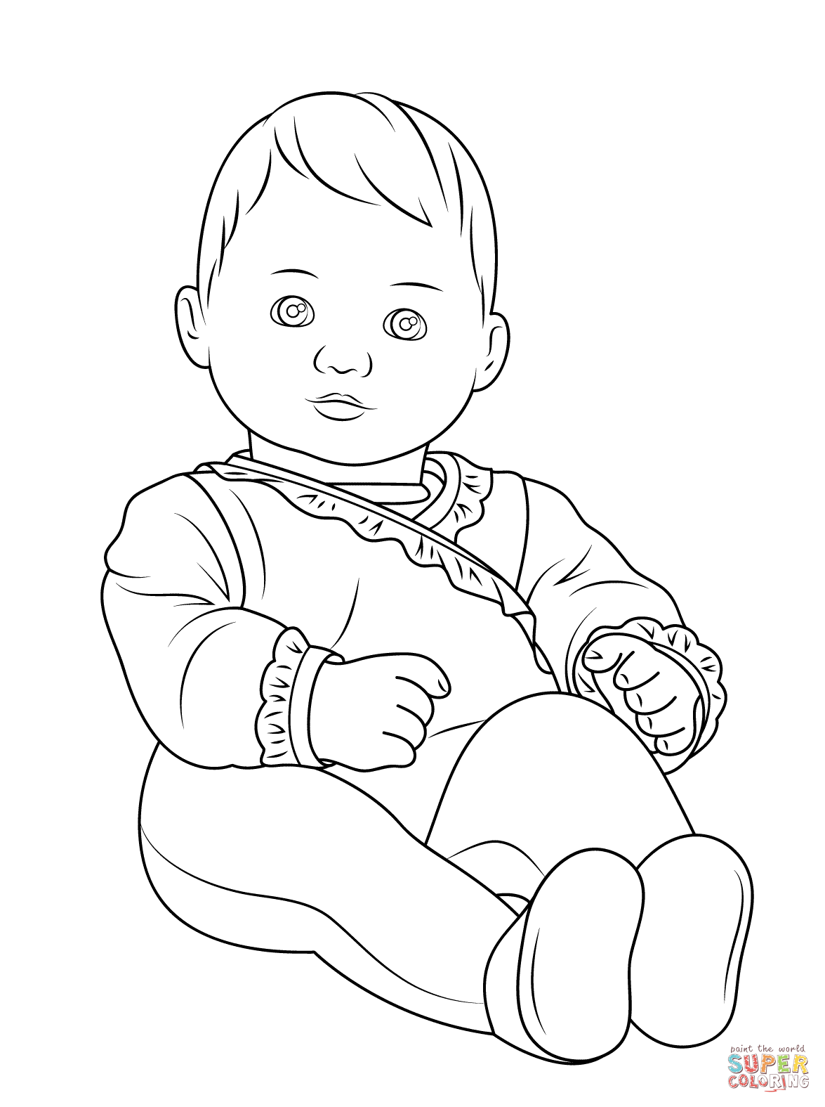 baby coloring pages free printable baby coloring pages for kids coloring baby pages
