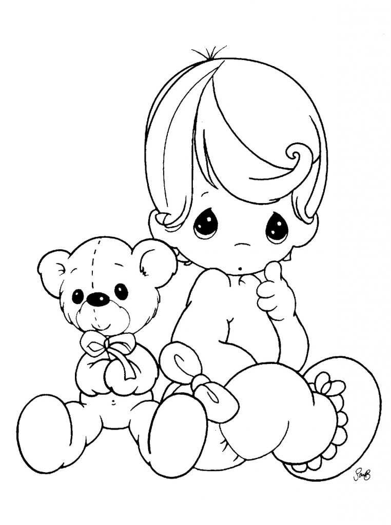 baby coloring pages free printable baby shower coloring pages coloring home pages coloring baby
