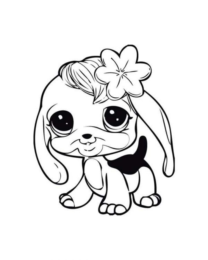 baby dog coloring pages baby dog learn to walk in littlest pet shop coloring pages dog baby pages coloring