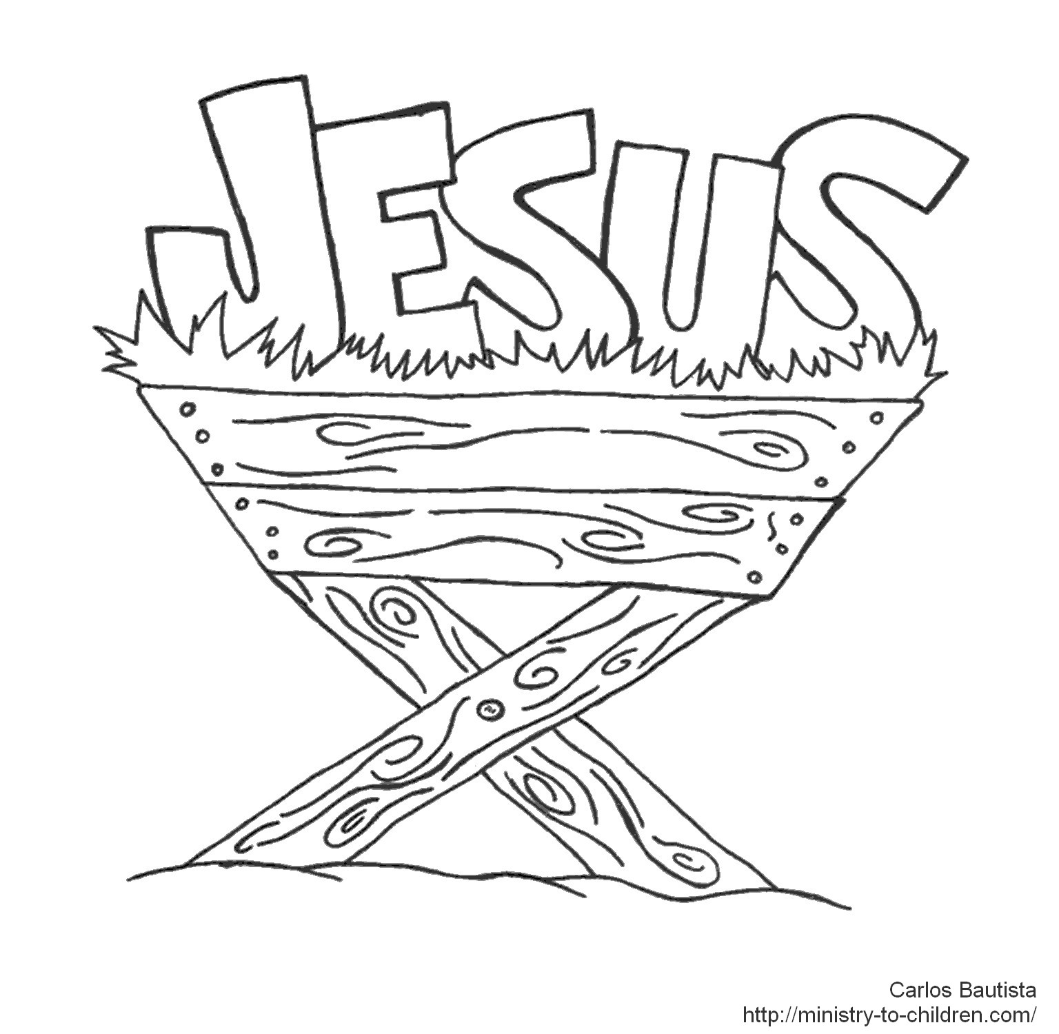 baby jesus in manger coloring page baby jesus in manger drawing at getdrawings free download page coloring in baby jesus manger