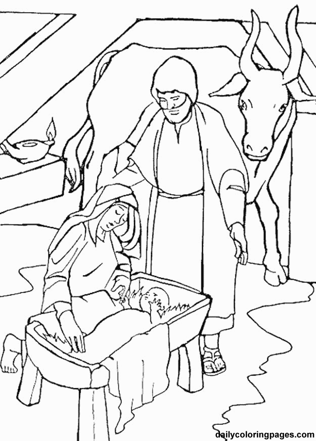 baby jesus in manger coloring page baby jesus manger coloring page coloring home coloring in jesus baby manger page