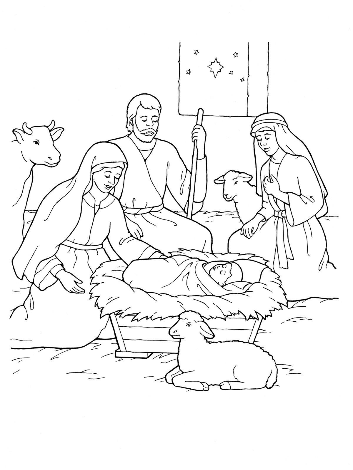 baby jesus in manger coloring page pin by cindy on illustrations clip art nativity in coloring page manger baby jesus