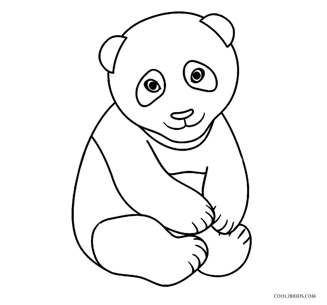 baby panda coloring pages cute baby panda coloring pages clipart panda free panda coloring baby pages