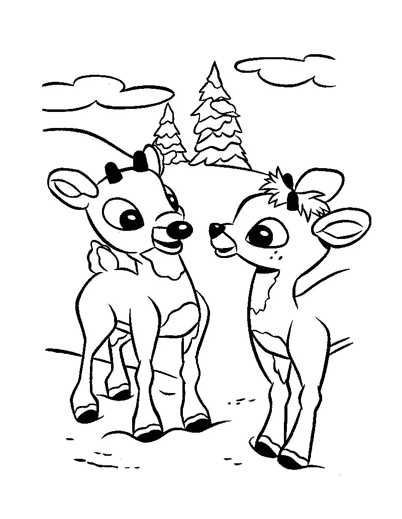 baby reindeer coloring pages baby reindeer coloring pages download and print for free pages reindeer coloring baby