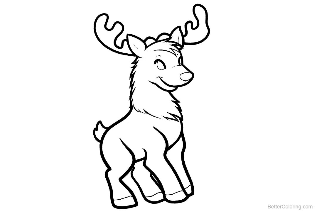 baby reindeer coloring pages baby reindeer coloring pages free printable coloring pages reindeer pages coloring baby