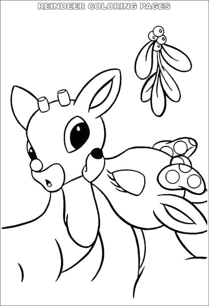 baby reindeer coloring pages collection of printable reindeer coloring pages coloring pages reindeer baby