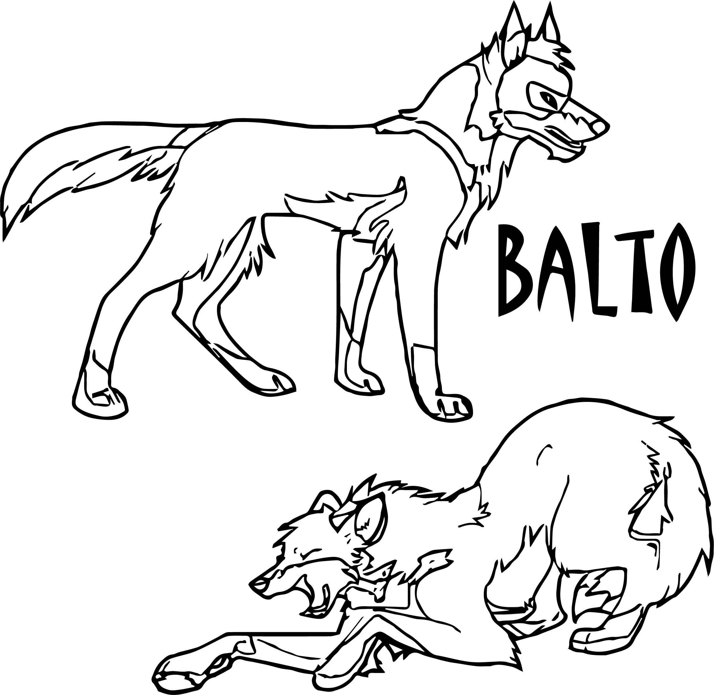 balto coloring pages balto coloring pages to download and print for free pages coloring balto