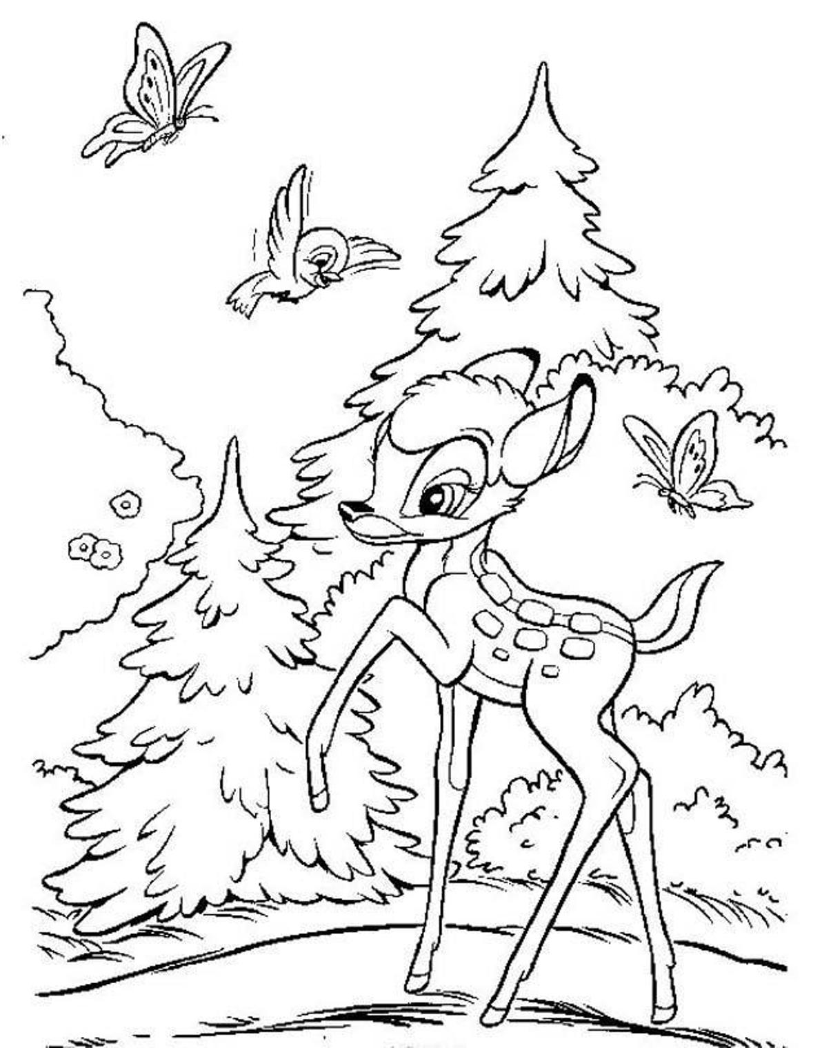 bambi coloring book bambi coloring pages 3 disney39s world of wonders book coloring bambi