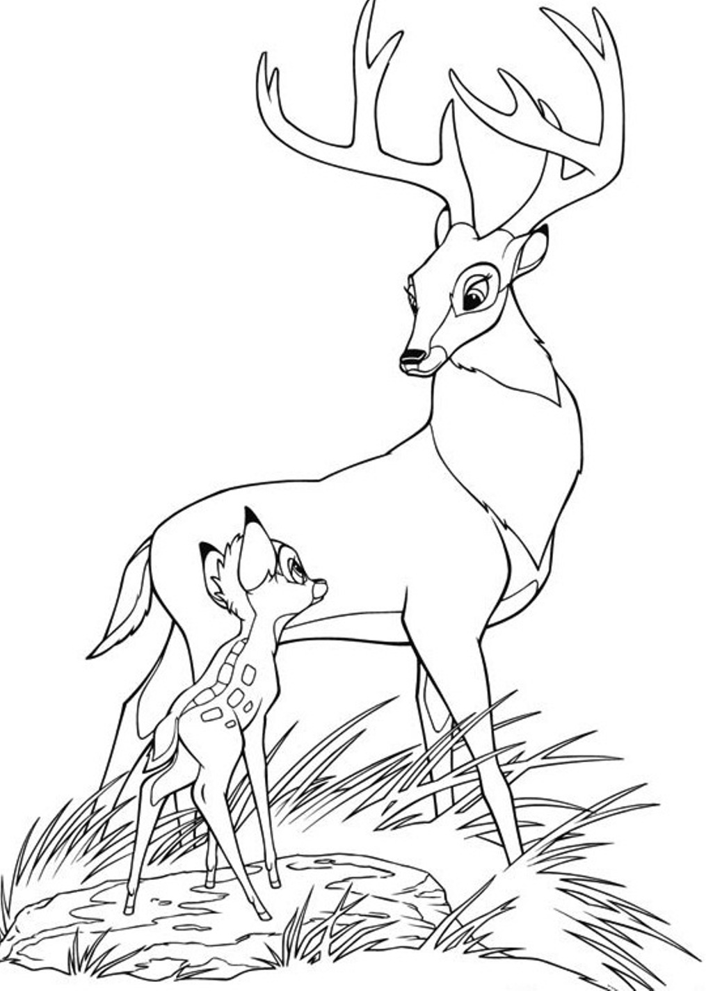 bambi coloring book bambi coloring pages coloring pages to download and print book coloring bambi