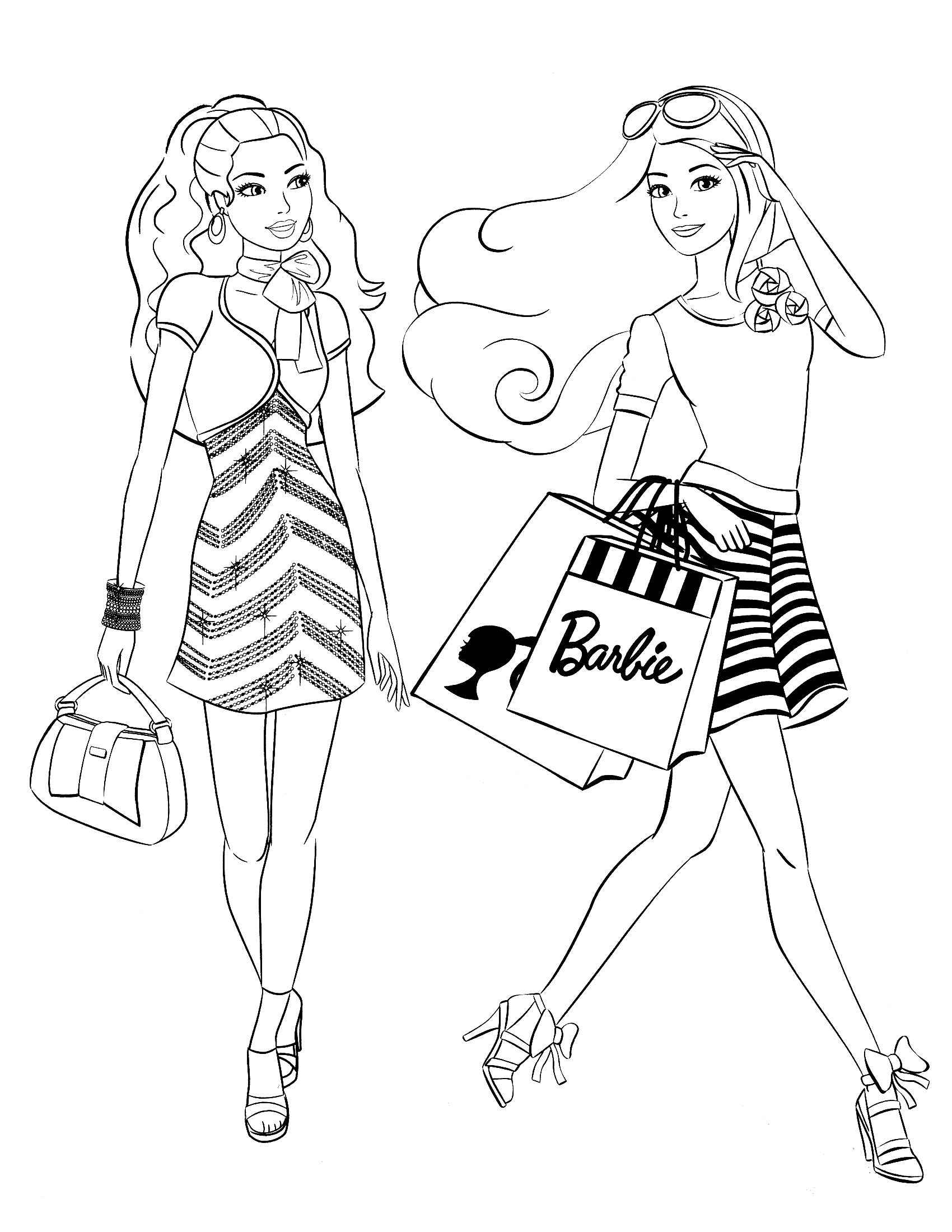 barbie colouring in picture barbie coloring pages barbie picture in colouring