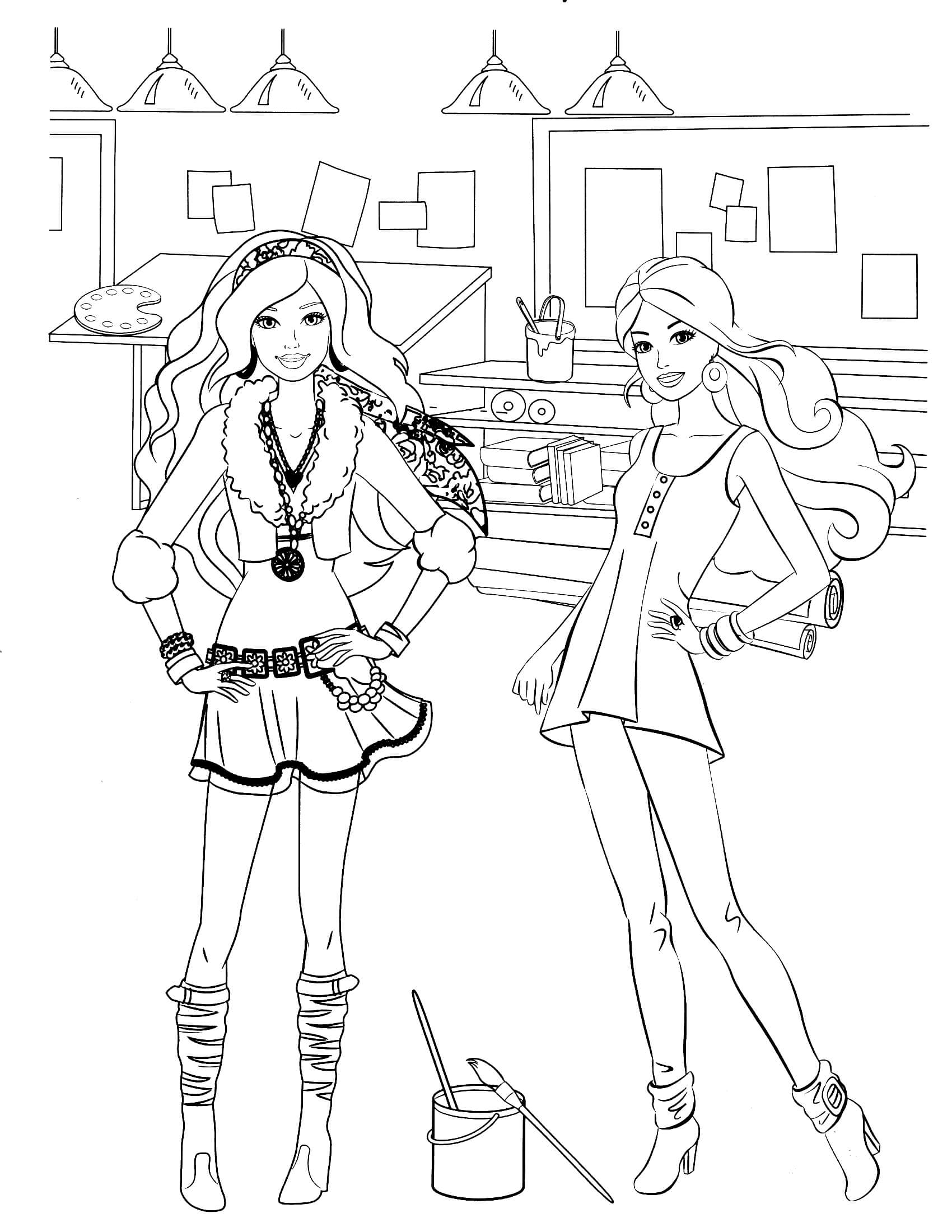 barbie colouring in picture barbie coloring pages for girls toddlers adults print in barbie colouring picture