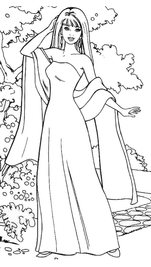 barbie doll colouring pictures barbie girl coloring pages pictures doll barbie colouring